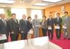 2010年度 第1次予算要望書を区長に提出しました!