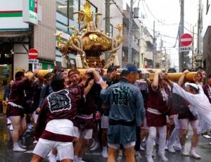 富岡八幡宮例大祭でお神輿わっしょい!