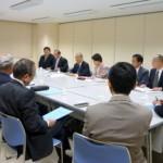 江東産業三団体と懇談しました。