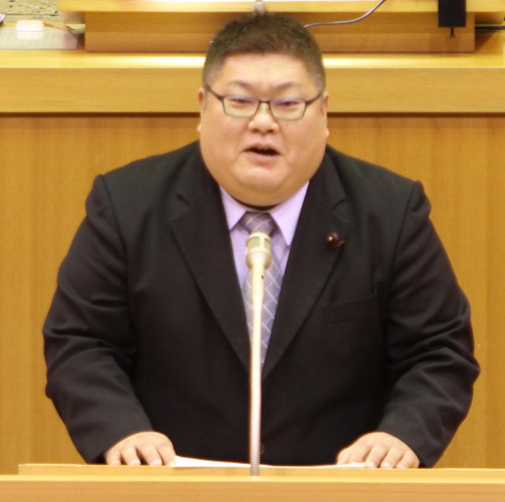 江東区就学援助費支給条例を提案しました。